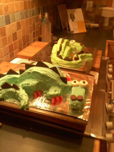 'Cause one cake didn't seem like it would be big enough...